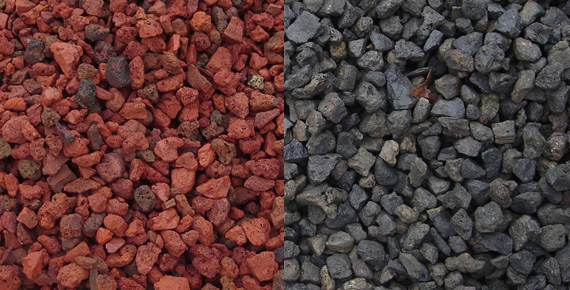 Red Pumice Stone : Soils mineral ingredients